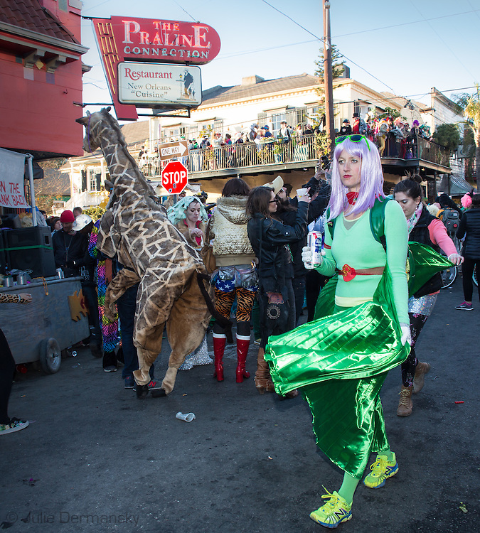 Mardis Gras Day in the Faubourg Marigny