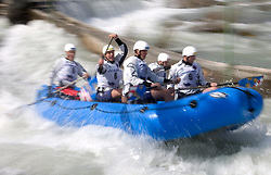Delta Sport of Croatia at Euro Cup 2009 R6 Rafting in TT & H2H and Slovenian National Championship 2009, on April 4, 2009, in Tacen, Ljubljana, Slovenia. (Photo by Vid Ponikvar / Sportida)