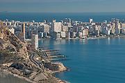 Albufera beach and coast,Alicante, Costa, Blanca, Spain, Europe