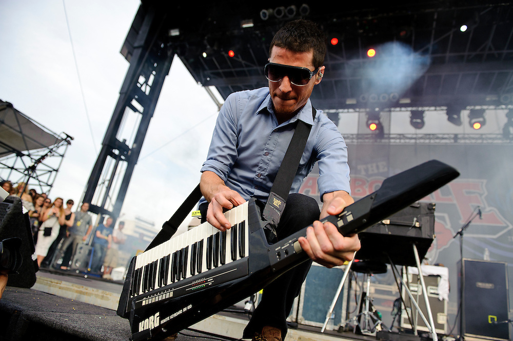 MUTEMATH performing at The Bamboozle in East Rutherford, New Jersey. May 2, 2010. Copyright © 2010 Matt Eisman. All Rights Reserved.