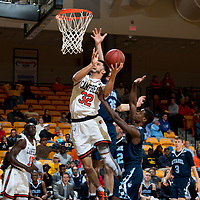 BUIES CREEK, NC - December 14th, 2017 - Campbell Camels and Citadel at Gilbert Craig Gore Arena in Buies Creek, NC. Photo By Bennett Scarborough