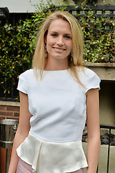 SOFIA BLUNT at a party to celebrate 'A Year In The Garden' celebrating the first year of The Ivy Chelsea Garden, 197 King's Road, London on 16th May 2016.