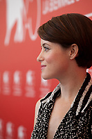 Claire Foy at the photocall for the film First Man at the 75th Venice Film Festival, on Wednesday 29th August 2018, Venice Lido, Italy.