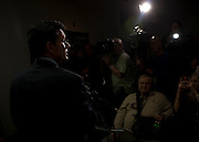 House Majority Leader ERIC CANTOR (R-VA) holds a news  conference Tuesday saying that House Republicans have not yet decided whether to push forward with a one-week stopgap spending bill to avert a government shutdown.