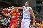 Danzica - Polonia 04 Agosto 2012 - TORNEO INTERNAZIONALE SOPOT CUP - Italia Montenegro<br /> Nella Foto : MARCO CUSIN<br /> Foto Ciamillo