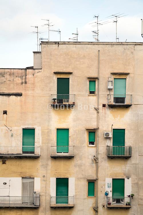 housing Napels in the Rione Sanita neighborhood