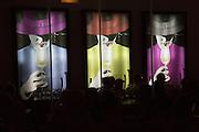 Tio Pepe neon electric advertising sign, Gonzalez Byass bodega, Jerez de la Frontera, Cadiz province, Spain