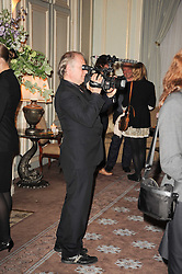 at a dinner hosted by Vogue in honour of photographer David Bailey at Claridge's, Brook Street, London on 11th May 2010.