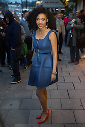 London VIP Gala screening of 20 Feet From Stardom. Judith Hill, <br /> Singer-songwriter, arrives at the screening of 20 Feet From Stardom. Green cinema,  Islington, London, United Kingdom. Tuesday, 25th March 2014. Picture by Daniel Leal-Olivas / i-Images