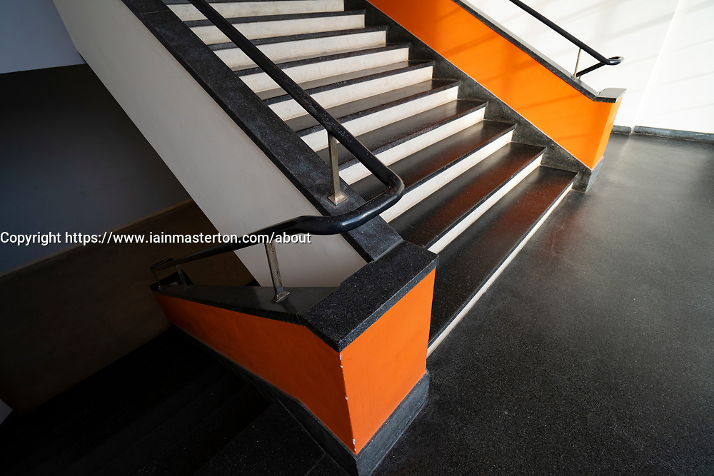 Bauhaus architecture at the School of Design at Dessau, Germany