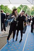 MELANIE RICKEY AND GIADA ELENA DOBRZENSKY DE DOBRZENICZ. The London Magazine party to celebrate the New London Season and the TLM award for the Best-Dressed Man and Woman. Serpentine Gallery. 21 May 2008.  *** Local Caption *** -DO NOT ARCHIVE-© Copyright Photograph by Dafydd Jones. 248 Clapham Rd. London SW9 0PZ. Tel 0207 820 0771. www.dafjones.com.