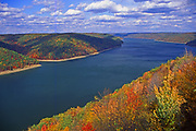 Aerial, Allegheny Reservoir, NE Pennsylvania, Allegheny National Forest