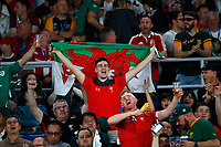 Rugby Union - 2019 Rugby World Cup - Semi-Final: Wales vs. South Africa<br /> <br /> Welsh fans at International Stadium Yokohama, Kanagawa Prefecture, Yokohama City.<br /> <br /> COLORSPORT/LYNNE CAMERON