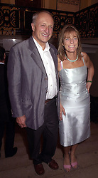 LORD & LADY ROGERS, he is the leading architect, at an exhibition in London on 18th September 2000.OGZ 53