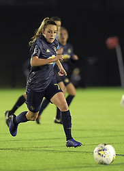 February 20, 2019 - Sheffield, United Kingdom - Ella Toone (Manchester United) sprints to the ball during the  FA Women's Championship football match between Sheffield United Women and Manchester United Women at the Olympic Legacy Stadium, on February 20th Sheffield, England. (Credit Image: © Action Foto Sport/NurPhoto via ZUMA Press)