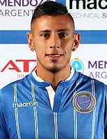 Argentina Football League First Division - Axion Energy 2016-2017 / <br /> Club Deportivo Godoy Cruz - <br /> Fabrizio Angileri