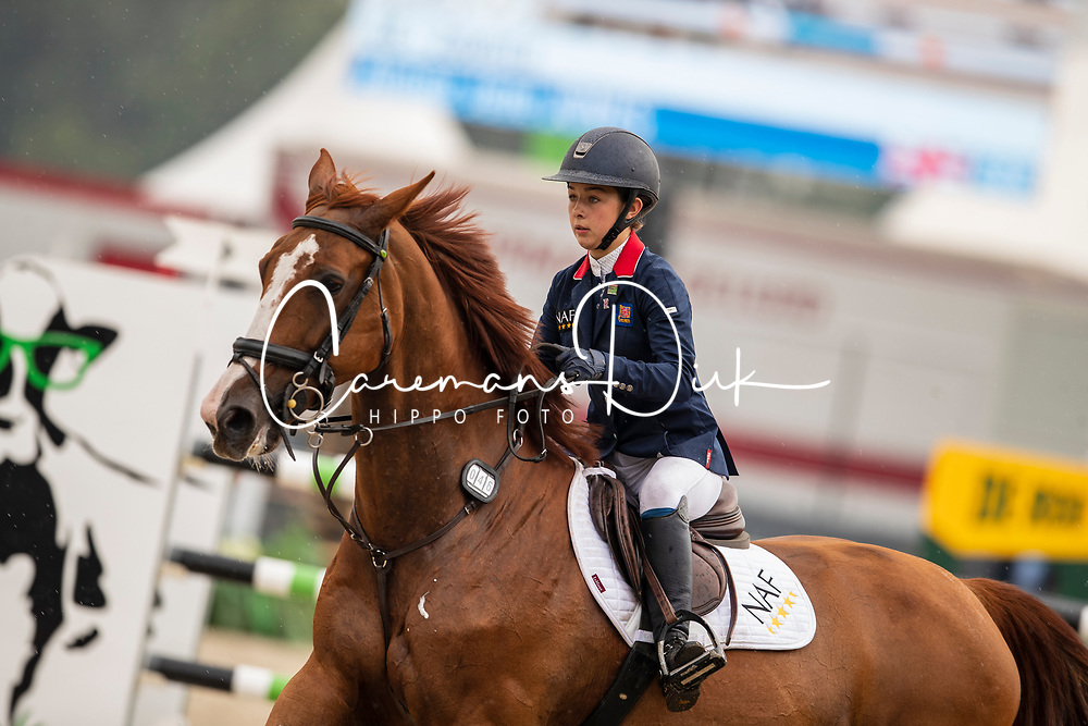 Jones Aimee Jane, GBR, Zoverla<br /> European Jumping Championship Children<br /> Zuidwolde 2019<br /> © Hippo Foto - Dirk Caremans<br /> Jones Aimee Jane, GBR, Zoverla