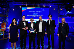 Residential Project of the Year, sponsored by Roythornes.  Winner: GEDA Construction - High Street, Brant Broughton.<br /> <br /> Greater Lincolnshire Construction and Property Awards 2018 organised by Lincolnshire Chamber of Commerce and held at The Engine Shed, Lincoln.<br /> <br /> Picture: Chris Vaughan Photography<br /> Date: February 6, 2018