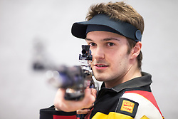 19.03.2016, Arena Kufstein, Kufstein, AUT, Österreichische Meisterschaften für Luftdruckwaffen, Herren, im Bild Thomas Mathis (AUT) // Thomas Mathis of Austria during the Austrian Mens Championships for airguns at Arena Kufstein in Kufstein, Austria on 2016/03/19. EXPA Pictures © 2016, PhotoCredit: EXPA/ Johann Groder