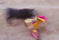 Bullfight in Arles, Provence, France, during the Feria de Paques, the Easter festival - Photograph by Owen Franken