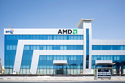 BT and AMD office building located at Dubai Internet City in United Arab Emirates UAE