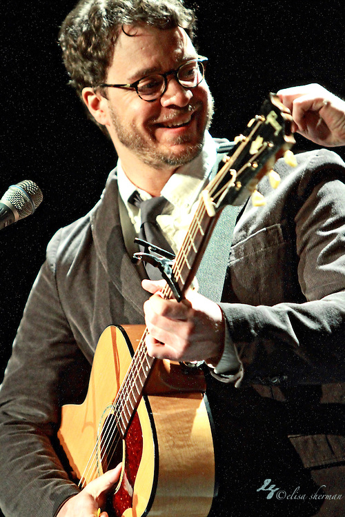 "Amos Lee performs on January 20, 2011 in support of ""Mission Bell"" at the Moore Theatre in Seattle, Washington"