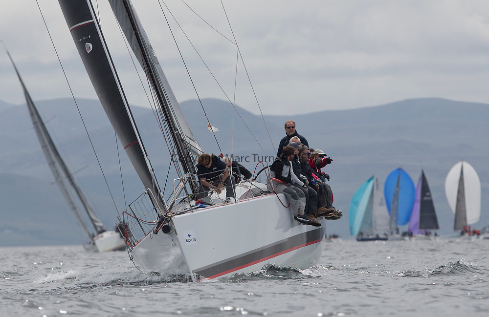 Silvers Marine Scottish Series 2017<br /> Tarbert Loch Fyne - Sailing Day 3<br /> <br /> FRA35439, Inis Mhor, M Findlay, CCC, Ker 39