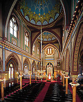 Plum St. Temple Interior / Isaac M Wise Temple