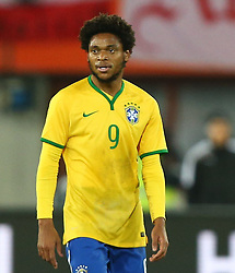 18.11.2014, Ernst Happel Stadion, Wien, AUT, Freundschaftsspiel, Oesterreich vs Brasilien, im Bild Luiz Adriano (BRA) // during the friendly match between Austria and Brasil at the Ernst Happel Stadion, Vienna, Austria on 2014/11/18. EXPA Pictures © 2014, PhotoCredit: EXPA/ Thomas Haumer