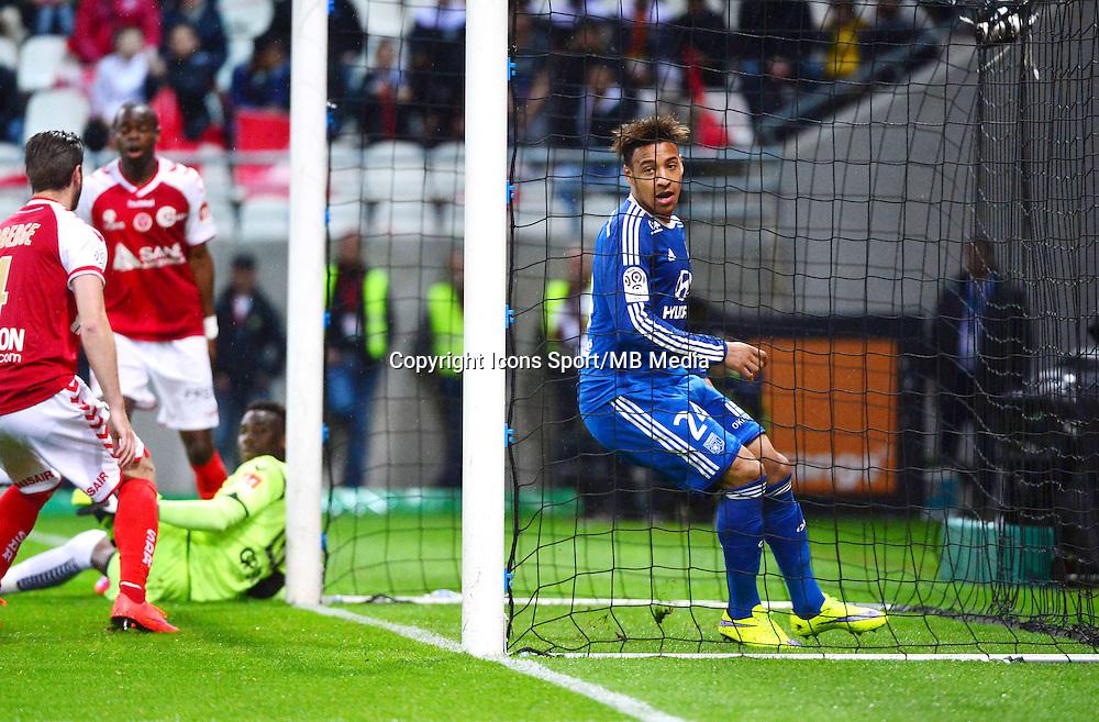 Joie Corentin TOLISSO - 26.04.2015 - Reims / Lyon - 34eme journee de Ligue 1<br />Photo : David Winter / Icon Sport