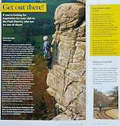 Spread, National Trust visitor magazine