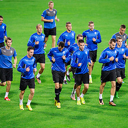 20130827: SLO, Football - UEFA Champions League, Practice session of FC Viktoria Plzen