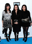 Emily Bungert, Kelly Cutrone and robyn Berkley attend the 2010 Bravo Media Upfront Party at Skylight Studios in New York City on March 10, 2010.