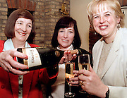 Westlife Mums, Mae Filan, Patricia Egan and Marie Feehily, celebrating the 5th Number One single by the band, on Mothers Day, in The Tower Hotel, Sligo. Photo: James Connolly/GreenGraph