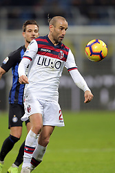 February 3, 2019 - Milan, Milan, Italy - Rodrigo Palacio #24 of Bologna FC in action during the serie A match between FC Internazionale and Bologna FC at Stadio Giuseppe Meazza on February 3, 2019 in Milan, Italy. (Credit Image: © Giuseppe Cottini/NurPhoto via ZUMA Press)