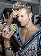 Sibling backstage at Victoria house in London for London Mens Collections  on Monday 17th June 2013.