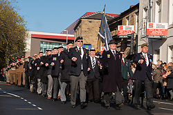 Remembrance Sunday Barnsley march past<br /> <br />  Copyright Paul David Drabble<br />  10 November 2019<br />  www.pauldaviddrabble.co.uk