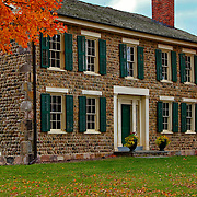&quot;Cobblestone Farm Autumn&quot;<br /> <br /> A wonderful image of historic Cobblestone Farm in Ann Arbor Michigan during autumn!!<br /> Beautiful architecture, texture and colors!!<br /> <br /> Architecture, structures, buildings and their details by Rachel Cohen