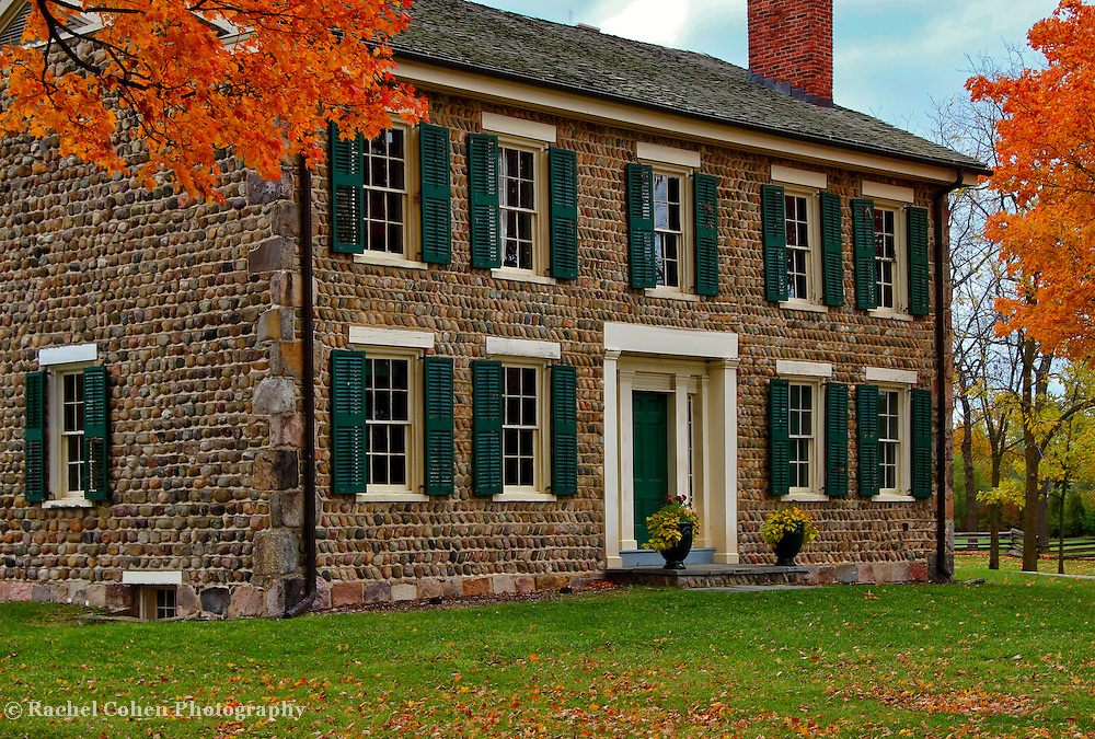 &quot;Cobblestone Farm Autumn&quot;<br />