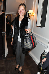 The HON.VIRGINIA FRASER at a party to celebrate thelaunch of Alice Temperley's flagship store Temperley, Bruton Street, London on 6th December 2012.