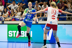 Tamara Mavsar of Slovenia during handball match between Women national teams of Slovenia and Denmark in Round #5 of Qualifications for Women's EHF EURO 2018 Championship in France, on May 30, 2018 in Sports hall Golovec, Celje, Slovenia. Photo by Urban Urbanc / Sportida