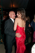 Daniela Lavender; Sir Ben Kingsley, Evgeny Lebedev and Graydon Carter hosted the Raisa Gorbachev charity Foundation Gala, Stud House, Hampton Court, London. 22 September 2011. <br /> <br />  , -DO NOT ARCHIVE-© Copyright Photograph by Dafydd Jones. 248 Clapham Rd. London SW9 0PZ. Tel 0207 820 0771. www.dafjones.com.