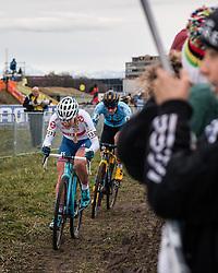 RICHARDS Evie (GBR) during Women Elite race, 2020 UCI Cyclo-cross Worlds Dübendorf, Switzerland, 1 February 2020. Photo by Pim Nijland / Peloton Photos | All photos usage must carry mandatory copyright credit (Peloton Photos | Pim Nijland)
