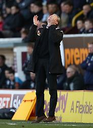 Derby County Manager, Steve McClaren shows his frustration  - Photo mandatory by-line: Matt Bunn/JMP - Tel: Mobile: 07966 386802 22/02/2014 - SPORT - FOOTBALL - Turf Moor Stadium- Burnley - Burnley  v Derby County- Sky Bet Championship