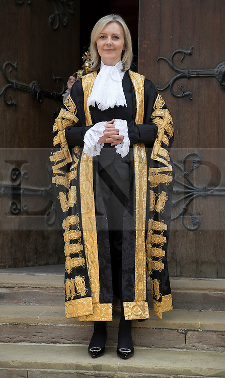 © Licensed to London News Pictures. 21/07/2016. London, UK. Newly appointed Justice Secretary Liz Truss is officially sworn in as Lord Chancellor of Great Britain at the High Court. Justice Secretary Liz Truss replaces Michael Gove who was sacked from the cabinet by new Prime Minister Theresa May. Photo credit: Peter Macdiarmid/LNP