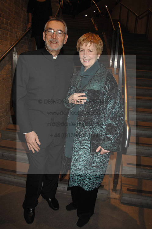 MICHAEL G WILSON with his wife at Fast Forward - a fund-raising party for the National Theatre held at The Roundhouse, London NW1 on 1st March 2007.<br /><br />NON EXCLUSIVE - WORLD RIGHTS