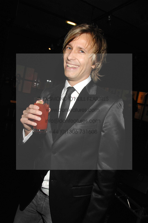 RICK PARFITT jnr  at Andy & Patti Wong's Chinese new Year party held at County Hall and Dali Universe, London on 26th January 2008.<br /> <br /> NON EXCLUSIVE - WORLD RIGHTS (EMBARGOED FOR PUBLICATION IN UK MAGAZINES UNTIL 1 MONTH AFTER CREATE DATE AND TIME) www.donfeatures.com  +44 (0) 7092 235465