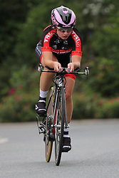 26.06.2015, Einhausen, GER, Deutsche Strassen Meisterschaften, im Bild Hannah Scheffler (Cycling Team Bochum) // during the German Road Championships at Einhausen, Germany on 2015/06/26. EXPA Pictures © 2015, PhotoCredit: EXPA/ Eibner-Pressefoto/ Bermel<br /> <br /> *****ATTENTION - OUT of GER*****