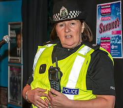 """Pictured : Chief Superintendent Lesley Clark.<br /> <br /> Ch Supt Lesley Clark has been named as the new police divisional commander for the Lothians and Scottish Borders.<br /> She grew up in Midlothian and started her career as a special constable in 1987 and has worked in Edinburgh and Livingston while rising through the ranks and said she hoped to """"enhance the safety of the public"""". She replaces Ch Supt Ivor Marshall who is now to chair the Association of Scottish Police Superintendents. Ch Supt Clark became a regular officer in 1988, before later going on to work in Police Scotland's Operational Support Division looking after event and emergency planning.  She returned to Edinburgh where she has been part of the Senior Management Team with responsibility for areas including counter terrorism, emergency and event planning, wellbeing and engagement."""