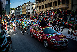 Start during the Men's Elite Road Race a 258.5km race from Kufstein to Innsbruck 582m at the 91st UCI Road World Championships 2018 / RR / RWC / on September 30, 2018 in Innsbruck, Austria. Photo by Vid Ponikvar / Sportida